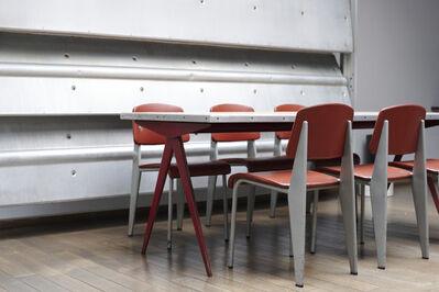 """Jean Prouvé, '""""Bulgomme"""" table', 1950"""