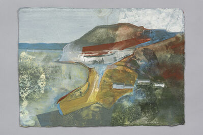 Jeremy Gardiner, 'Golden Cap and Seatown from Ridge Cliff I', 2019