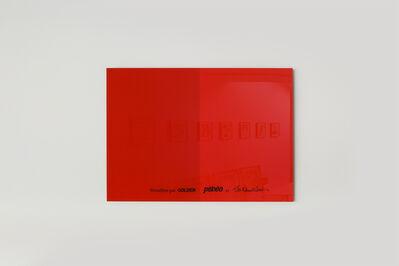 Bertrand Lavier, 'Rouge Vermillon', 2018