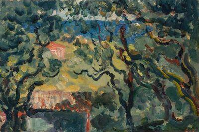 Louis Valtat, 'Paysage (Les Colettes a Cagnes) circa', 1907