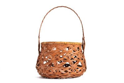 Iizuka Rōkansai, 'Flower Basket', 1890-1958