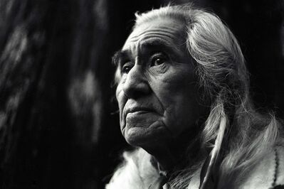 "James O'Mara, 'Chief Dan George ""Tsleil-Waututh Nation""', 1972"