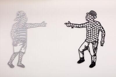 Boris Nzebo, 'Face to Face', 2019
