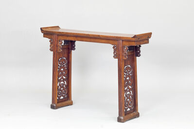 Unknown, 'A Huanghuali altar table with flanges', Ming Dynasty-17th century