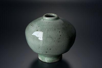 Masaya Yoshimura, '粉引青白釉扁壷', 2013