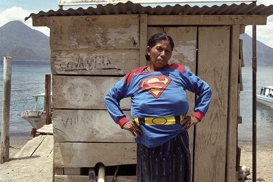 Walterio Iraheta, 'Super Girl in Atitlán [Superchica en Atitlán]', 2003