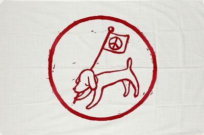 Yoshitomo Nara, 'Peace Flag', 2001