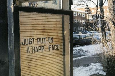 Vivian Maier, 'Just Put on a Happy Face (VM1976K04622)'