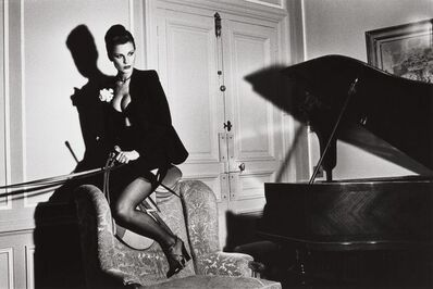 Helmut Newton, 'Saddle II', 1976