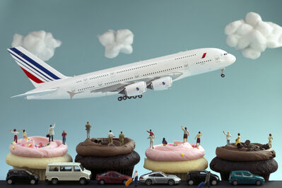 Christopher Boffoli, 'Cupcakes Airport', 2015