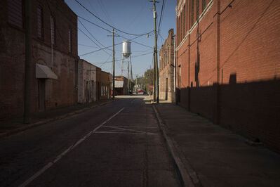 Forest McMullin, 'Late Harvest: Street and Water Tower, Quitman, Georgia', 2017-printed 2018