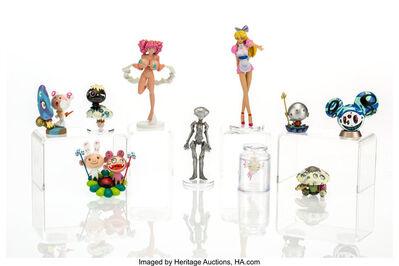 Takashi Murakami, 'Superflat Museum (ten works)', 2005