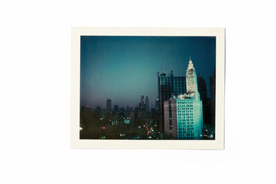 Wim Wenders, 'View from NY window, 1975', 2018
