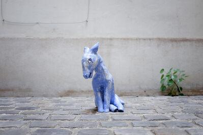 Clémentine de Chabaneix, 'Little blue horse', 2018