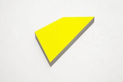 Wolfram Ullrich, 'O.T. cadmium yellow', 2010