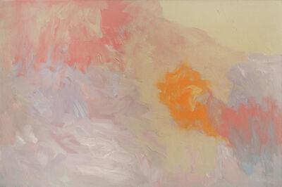 Felrath Hines, 'Landscape with Orange', 1963