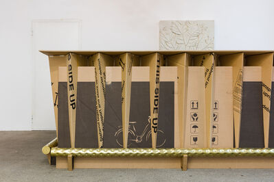 Peter Sandbichler, 'the golden bar #2', 2020