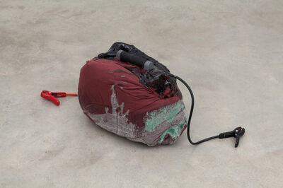 Kevin Beasley, 'Untitled (chest pack)', 2014