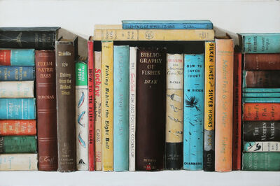 Holly Farrell, 'Fishing Books', 2018