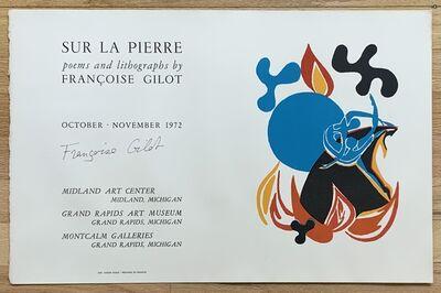 Françoise Gilot, 'Sur la Pierre', 1972