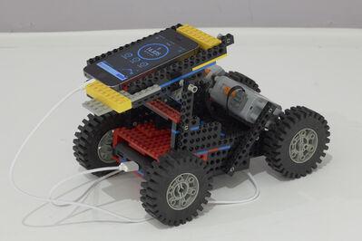 Goldin+Senneby, 'Insurgency of Life  (Lego Pedometer Cheating Machine)', 2019