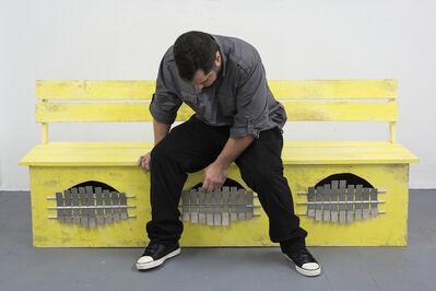 Jesús 'Bubu' Negrón, 'Banco marímbula (amarilla)', 2014