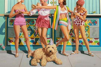 """Geoffrey Gersten, '""""Four Girls""""', 2020"""