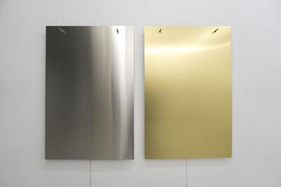 Finnbogi Pétursson, 'Relatives Aluminum-Brass', 2019