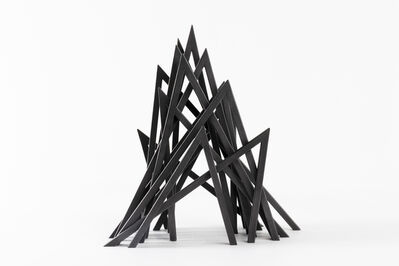 Bernar Venet, '14 Acute Unequal Angles', 2019
