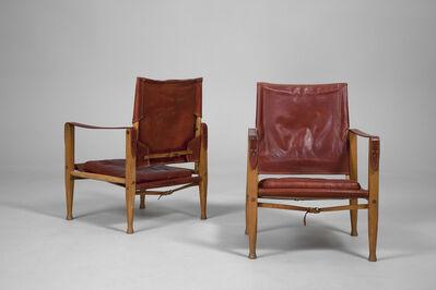 Kaare Klint, 'Pair of 'Safari' Armchairs', ca. 1950