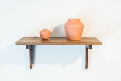 Ariane Vielmetter, 'Vessels (Persimmon and Gourd)', 2019