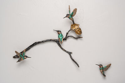 Bryce Pettit, 'Latitude series (hummingbirds small grouping)', 2020