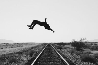 Tyler Shields, 'Train Tracks', 2013