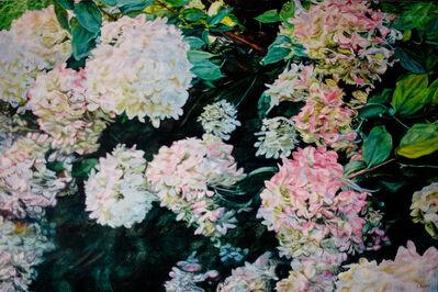 robert lemay, 'Hydrangeas', 2018