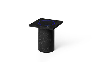Studio BUZAO, 'Dislocation - Square Side Table (Black Marquina)', 2020