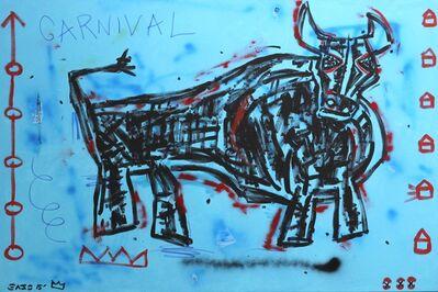 Gary John, 'Blue Carnival', 2015