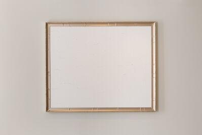 Bertrand Lavier, 'Peinture blanche et argent', 2019