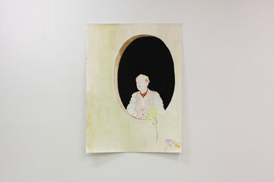 Lucile Desamory, 'Antonia mit Perücke', 2020
