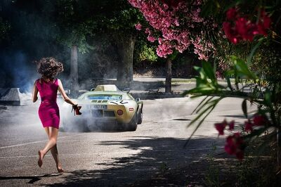 David Drebin, 'Wheels And Heels', 2013