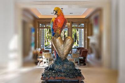 Jim Dine, 'King Parrot', 1995