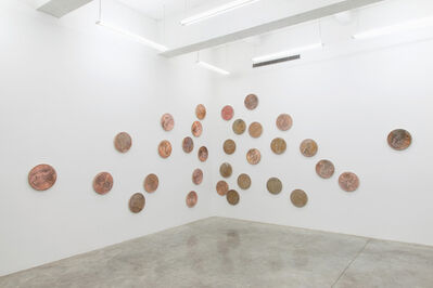 Jonathan Monk, 'From the year I was born until the year I left America', 2014