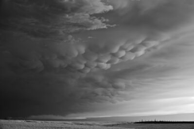 Mitch Dobrowner, 'Mammatus and Fence', 2014