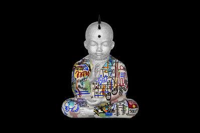 Metis Atash, 'Punk Buddha Soulmates III feat. Basquiat', ca. 2019