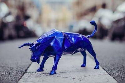 Richard Orlinski, 'Bull / Taureau', 2020