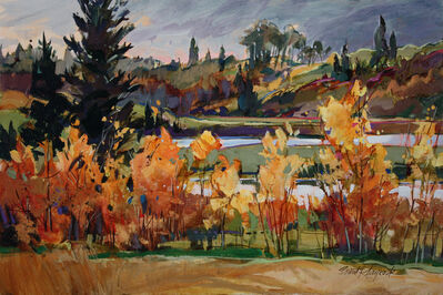 Brent Laycock, 'Valley Aspens'