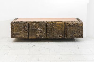 Paul Evans (1931-1987), 'Paule Evans, Sculpted Bronze Console, USA', 1970