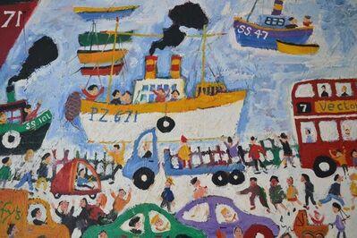 Simeon Stafford, 'The wharf St Ives', 2000