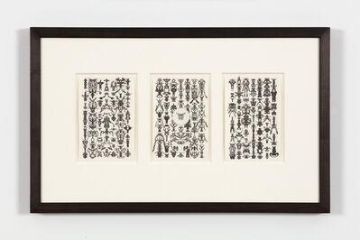 Bruce Conner, 'TRIO 51-55-28', 1975