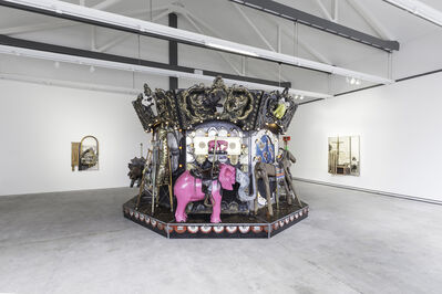 Edward and Nancy Reddin Kienholz, 'The Merry-Go-World or Begat By Chance and the Wonder Horse Trigger', 1991-1994