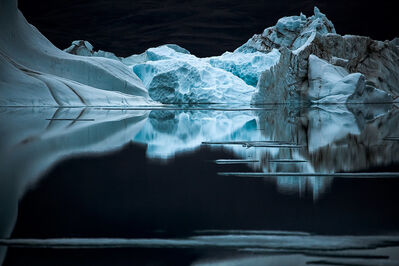 Sebastian Copeland, 'Quiet Night at Otto Fjord, Canadian Artic', 2008